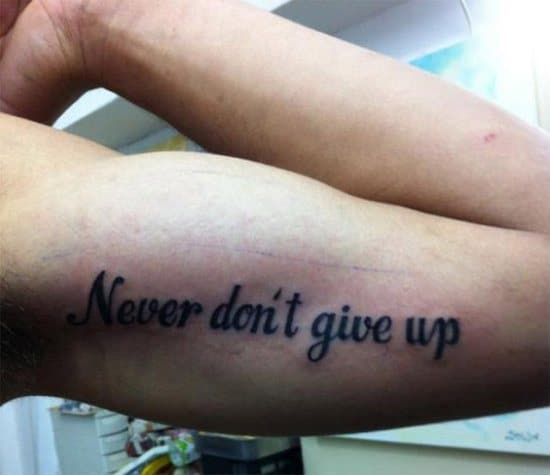 Worst Tattoo In The History Of The World: 13 Of The Most Regrettable Tattoos Ever
