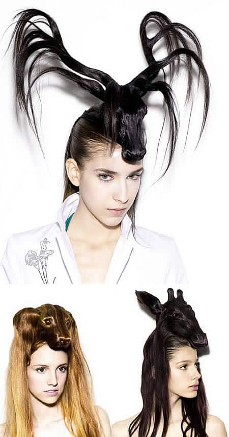 Check Out These Wild And Crazy Hair Styles