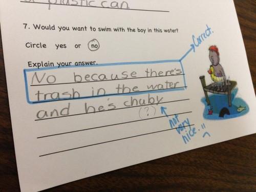 Ten Hilarious Homework Answers From Kids