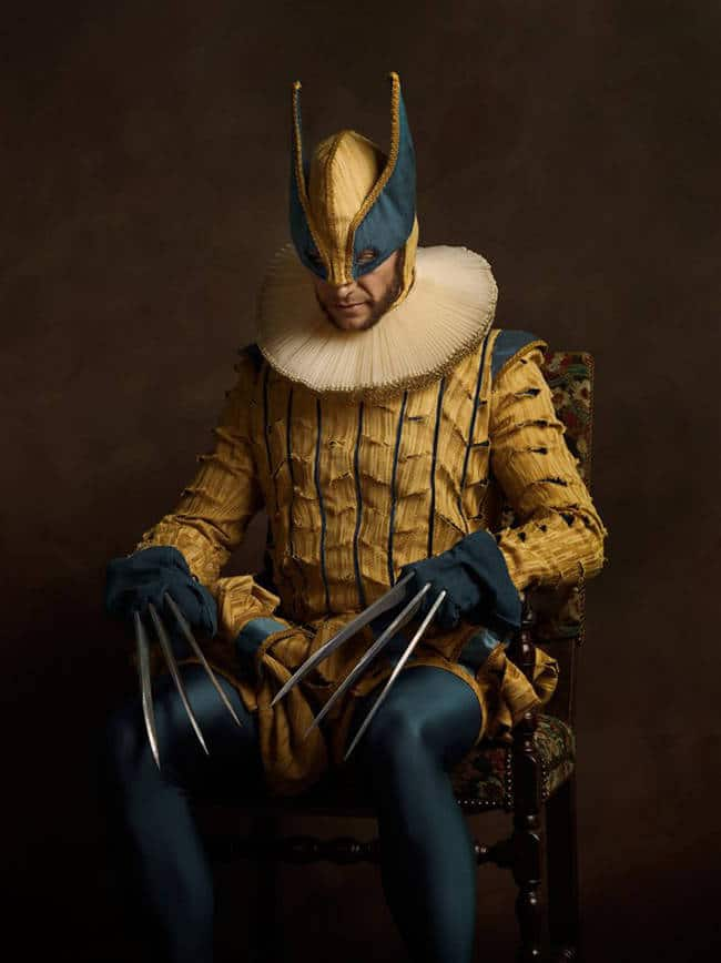 Bekannt These Regal Portraits of Famous Comic Characters Are Awesome JV46