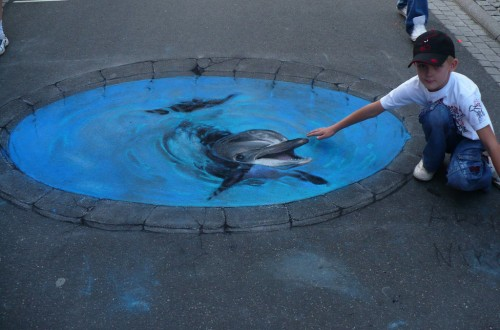 15 Stunning Examples of 3D Street Art