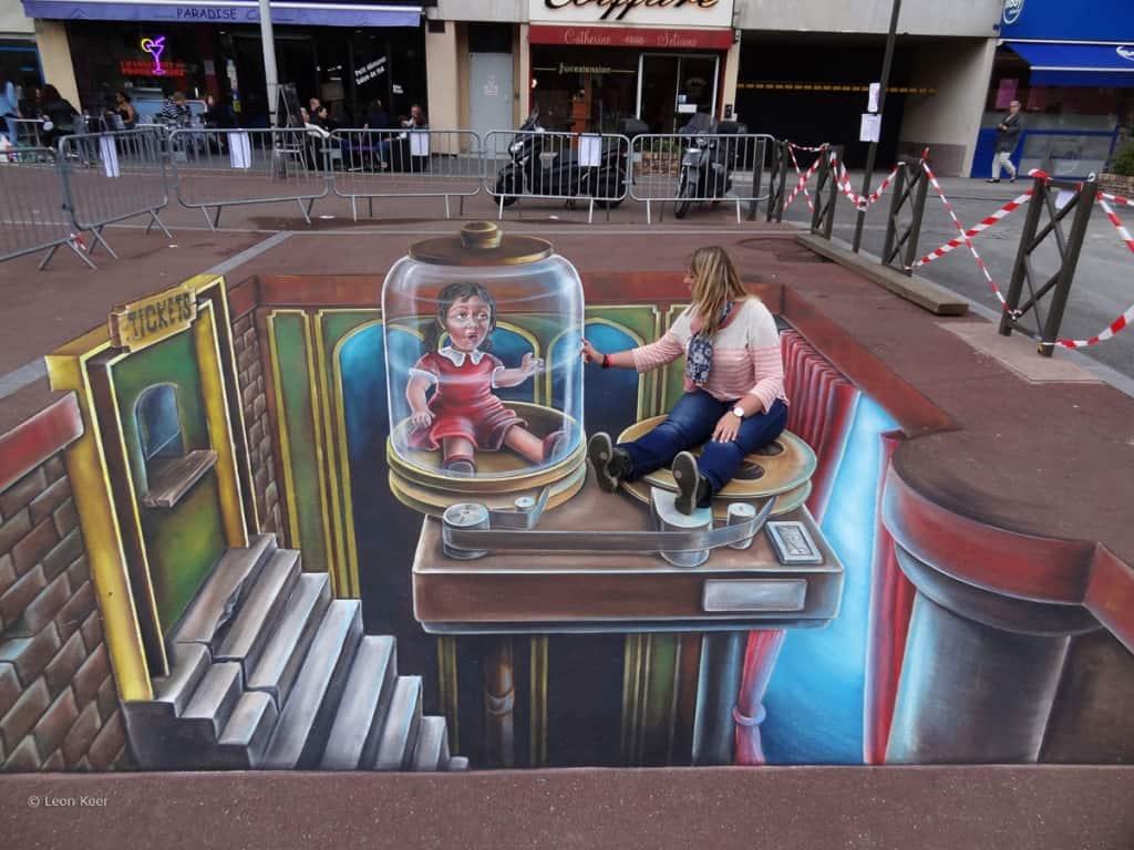 15 Stunning Examples of 3D Street Art