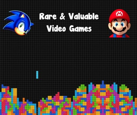Top 15 Rarest And Most Valuable Video Games Ever Made