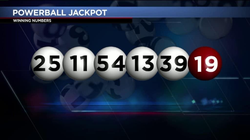 powerball winner numbers