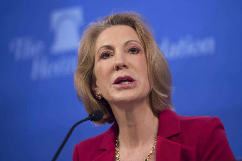 Carly Fiorina About To Jump Into Presidential Race