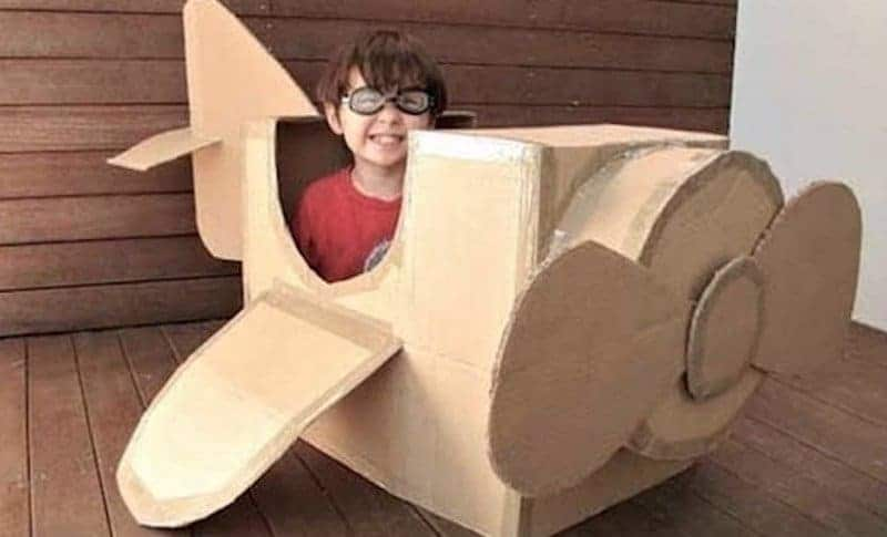 20 Awesome Ideas For Those Old Cardboard Boxes In Your Basement