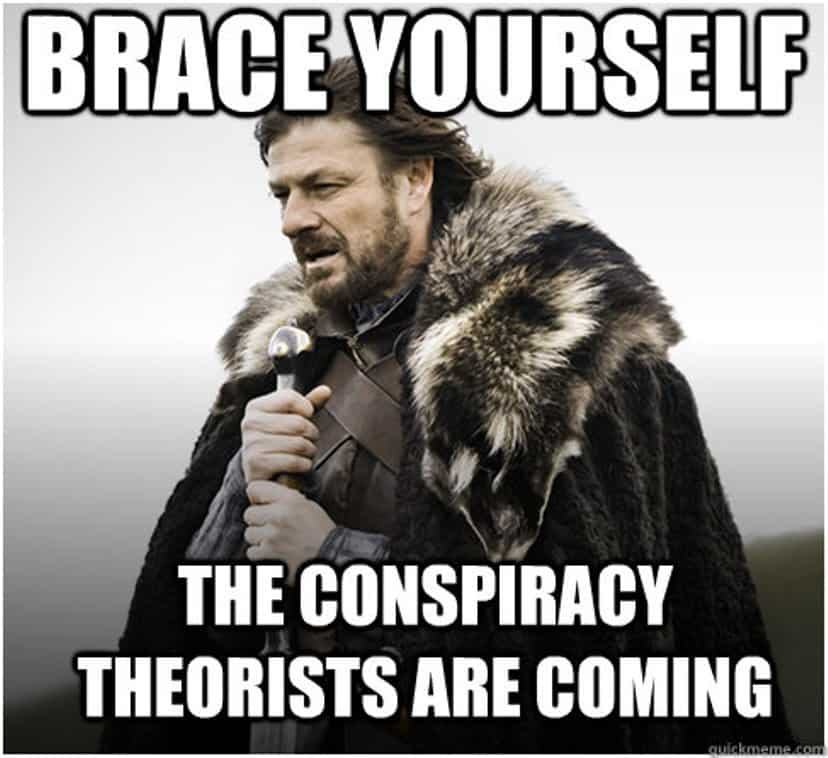Image result for conspiracy theorists