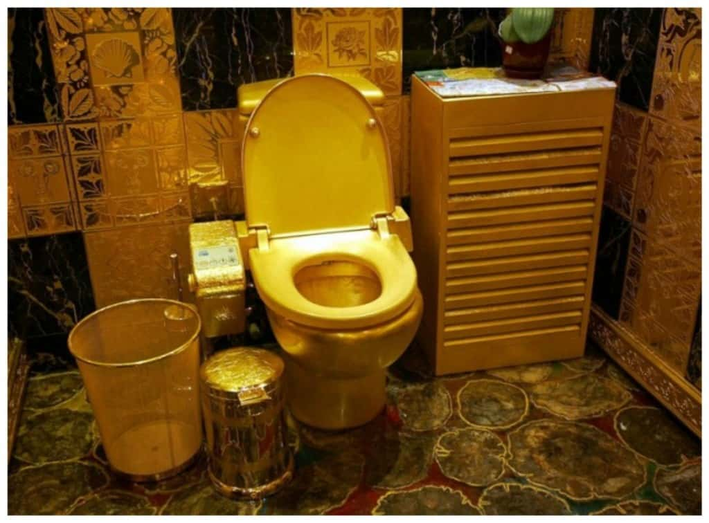 24k gold toilet paper. Gold Toilet 20 Cool And Crazy Things Made From  Page 2 of 5