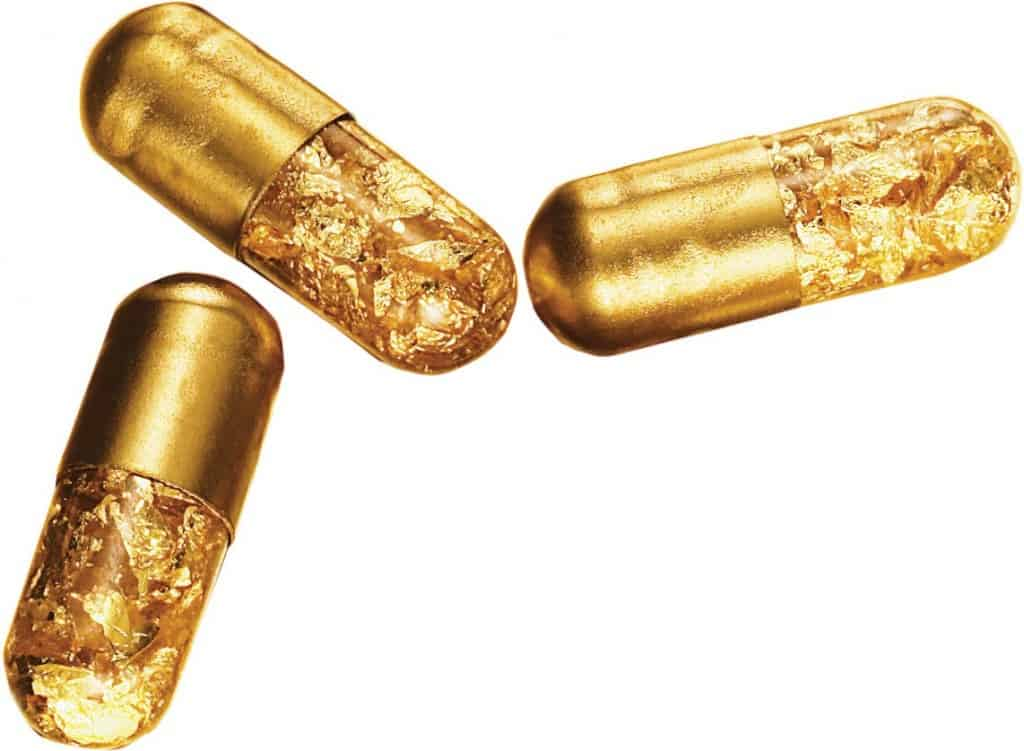 24k gold toilet paper. Gold Pills 20 Cool And Crazy Things Made From