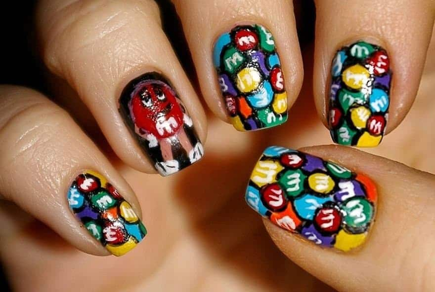 Amazing Nail Artists Recreates Your Favorite Cartoons Movies And Tv