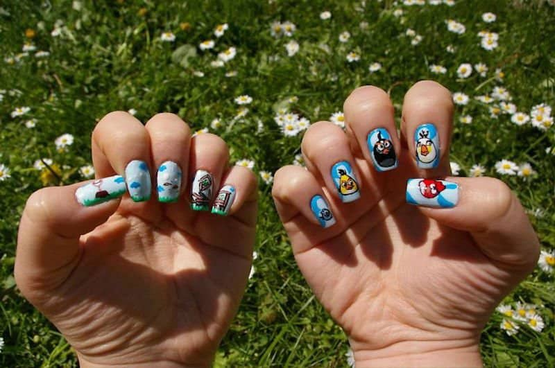 Amazing Nail Artists Recreates Your Favorite Cartoons, Movies and TV ...