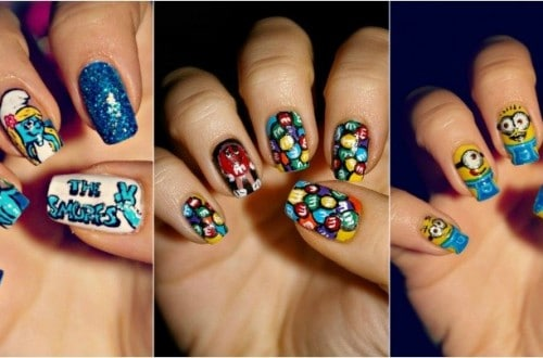 Amazing Nail Artists Recreates Your Favorite Cartoons, Movies and TV Shows