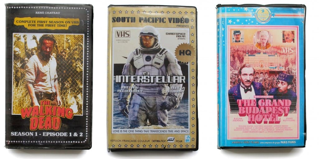 Amazing Retro VHS Cover Art For Modern TV And Movies Wolf Of Wall Street Movie Cover