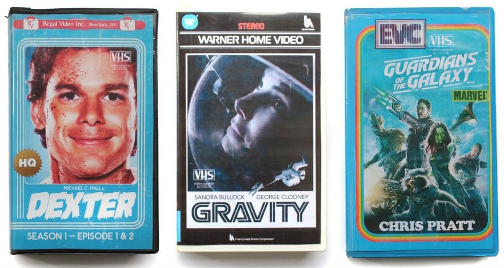 Amazing Retro VHS Cover Art For Modern TV And Movies