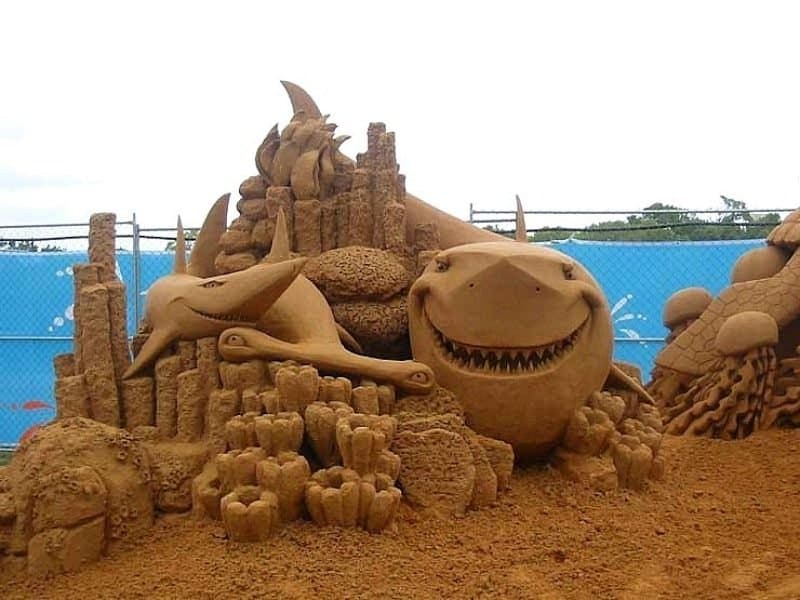 how to make a good sand castle