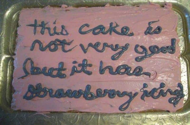 Collections Of Birthday Cake Messages