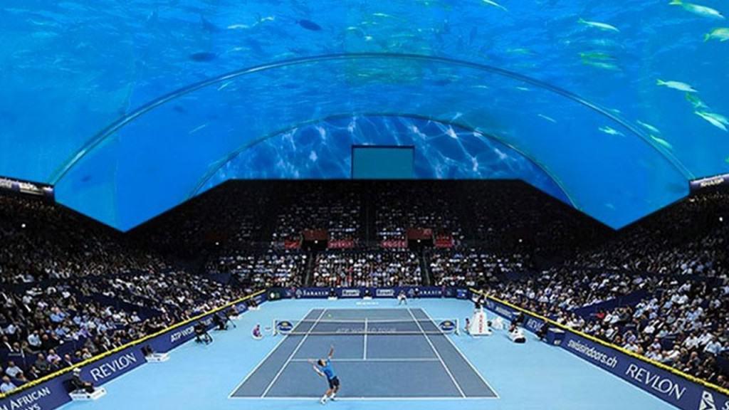 Dubai To Create Underwater Tennis Stadium