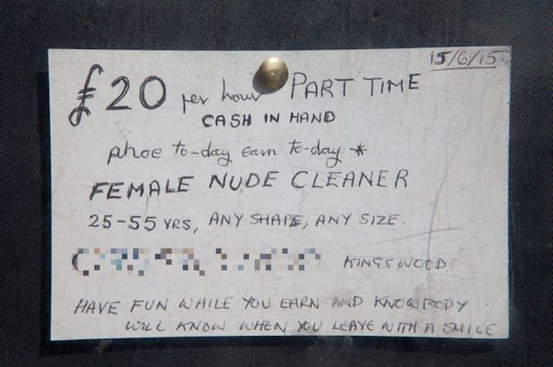 Man Places Ad Looking For Nude Cleaner And Gets 11