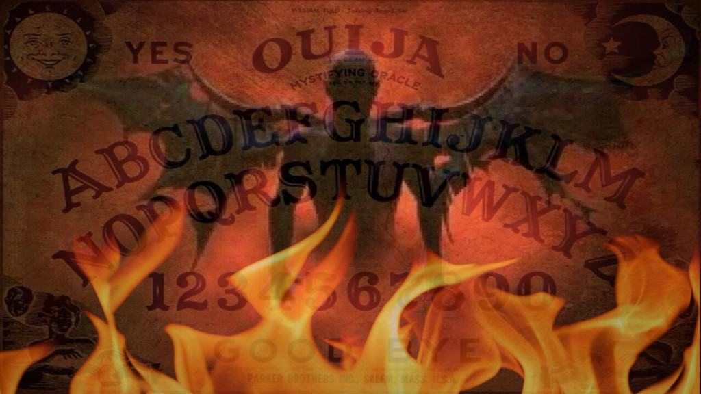 how to get rid of a paper ouija board