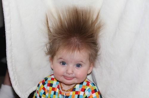 20 Babies Whose Hair Game Is On-Point