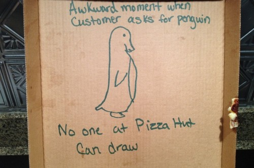 20 Hilarious Pizza Box Instructions That Turned Out Perfect