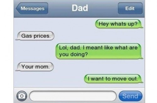 20 Of The Funniest Dad Texts Ever Sent