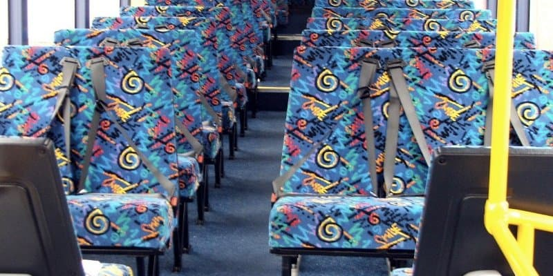 The Real Reason Why Bus Seats Are Designed With Ugly