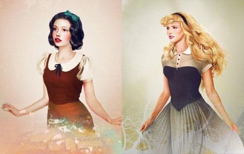 20 Disney Princesses Like You've Never Seen Them Before