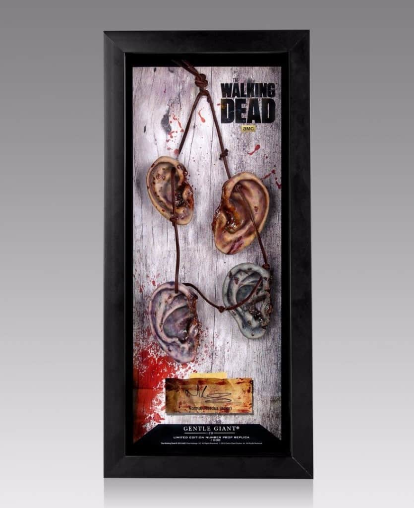 20 most shocking zombie gifts for geeks daryls ear necklace negle Choice Image