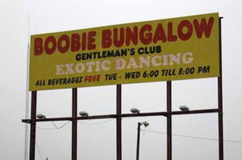 20 Of The Funniest Strip Club Names