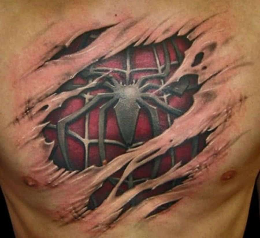 10 Of The Best 3D Tattoos