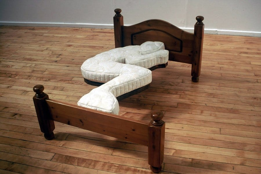 Bringing An All New Meaning To The Term Single Bed, This Piece Of Furniture  Is Only Any Good To Someone Who Sleeps In Exactly The Same Position Every  Night ...