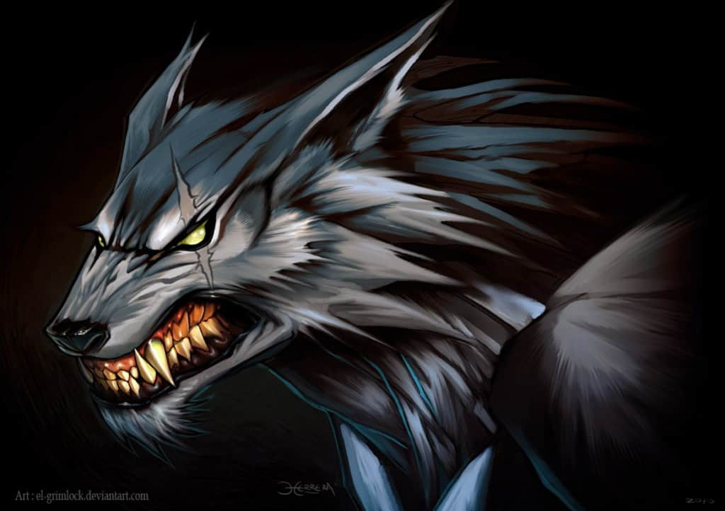 20 interesting facts about werewolves you need to know - Anime wolf wallpaper ...
