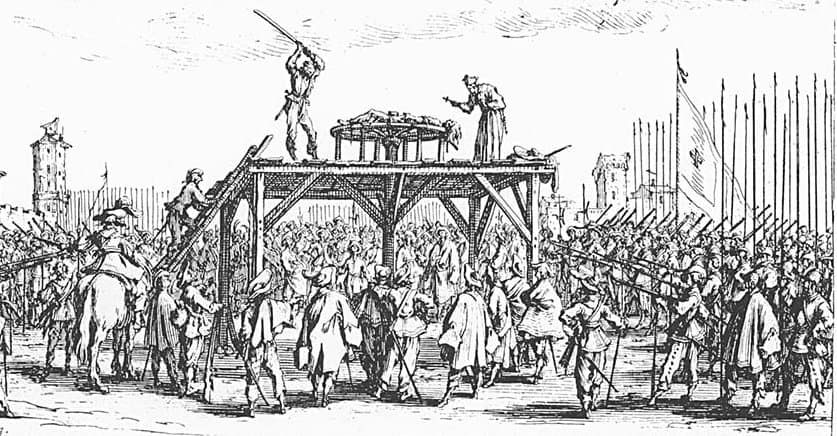 20 Of The Most Gruesome Methods Of Execution From History