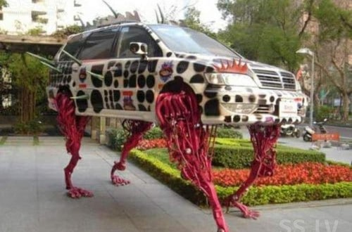 20 Outrageous And Hilarious Automobiles People Actually Created
