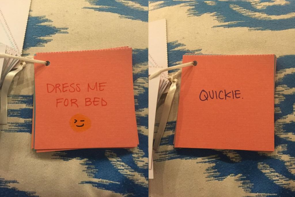 girlfriend gives awesome personal coupon book as