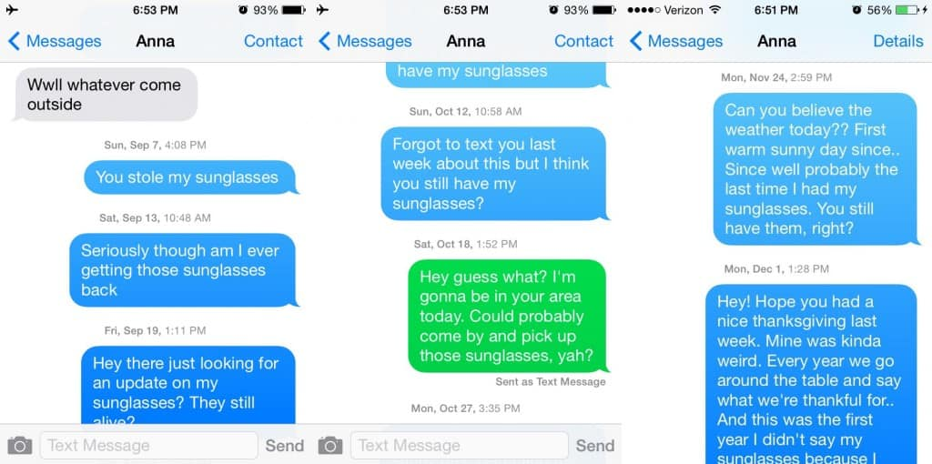 how to get a guy to text back