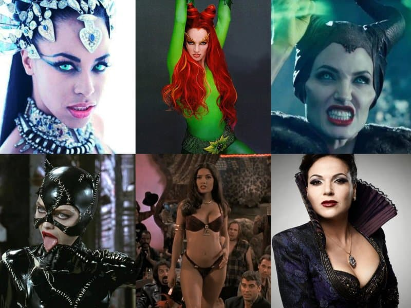 10 Of The Hottest Female Villains In The World