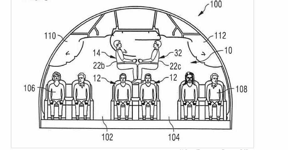 Airline Proposes Stacking Passengers On Top Of One Another