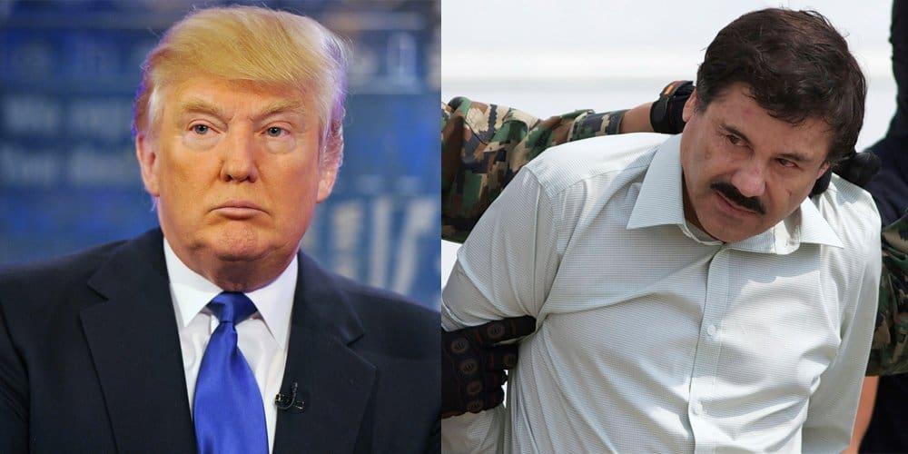 Drug Lord 'El Chapo' Institutes 'Dead Or Alive' Bounty On Donald Trump
