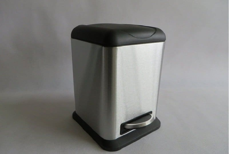 Foot Pedal Trash Can Bin Inventor Large