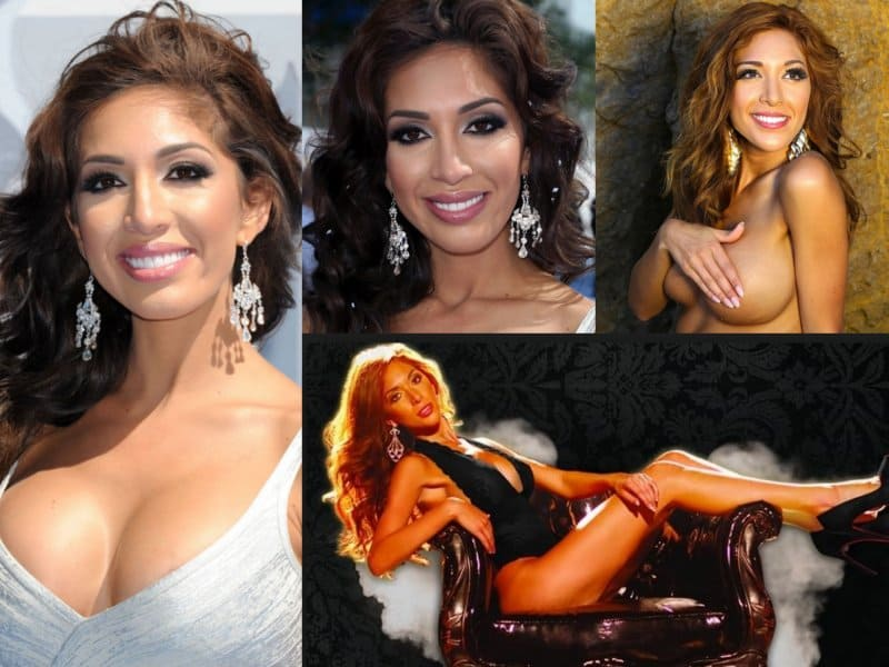 Farrah Abraham stars on the MTV reality series, Teen Mom. In 2013, her sex  tape with porn star James Deen was released. Farah claimed that she wanted  the ...
