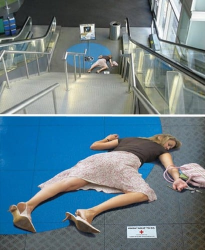 10 Funny And Creative Escalator Ads