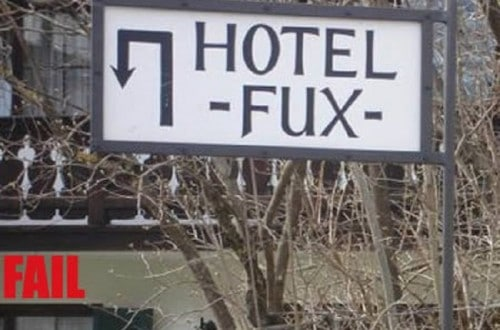 10 Hilariously Named Hotels From Across The World