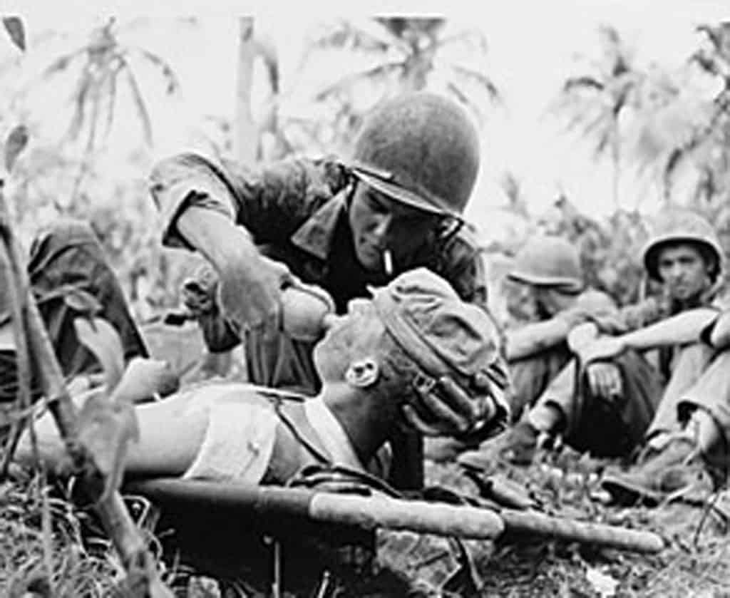 The Kempeitai, or Japanese Secret Police, took control of the island in  1944. Civilians on the island were raped, tortured, shot, or beheaded by ...
