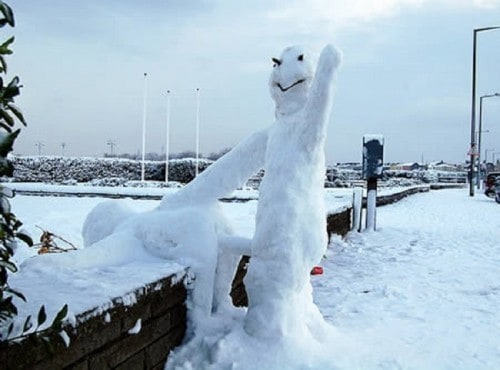10 Of The Best Snowmen Ever Created