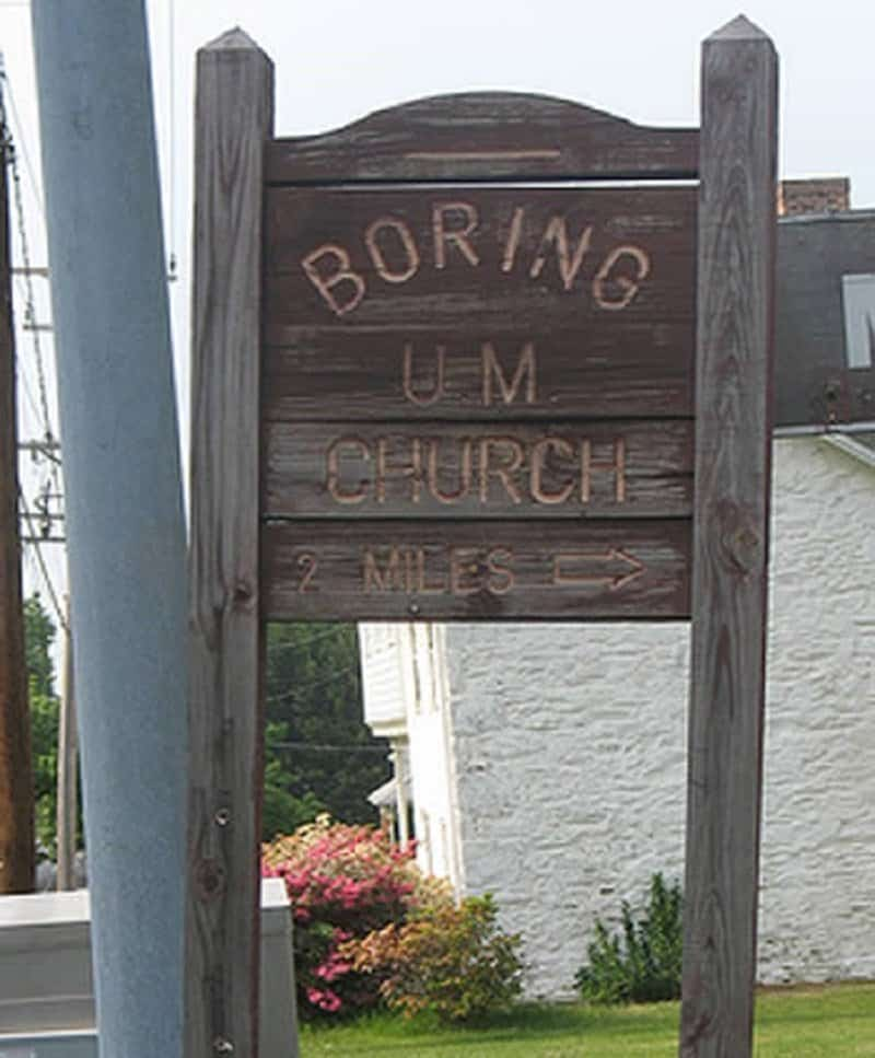 10 of the strangest church names