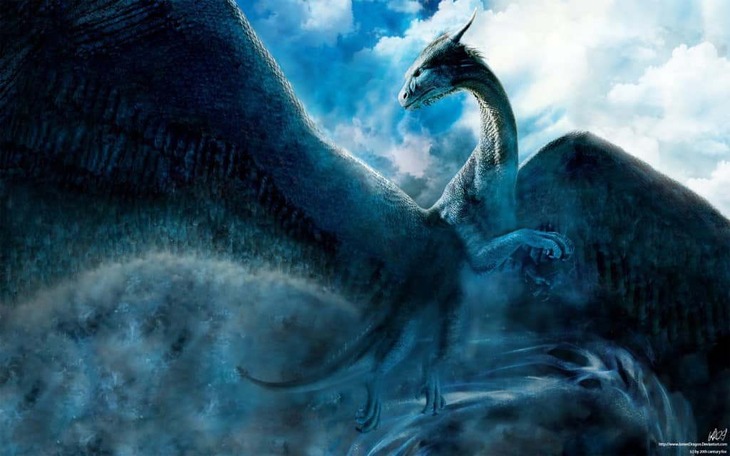 Beautiful Saphira Is The Dragon Who Chose And Bolstered The Spirit Of A Popular  Character Called U0027Eragonu0027. The Movies And Books Are Named After The Human  Rider In ...