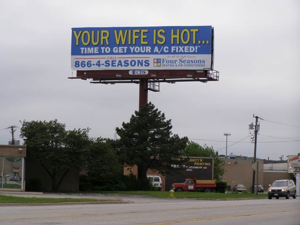 10 of the funniest billboard ads ever created 1 - View funny advertising photos