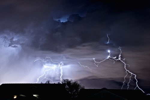 10 Unbelievable Lighting Strikes Caught On Camera